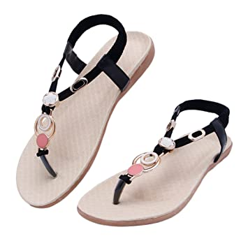 96920fc78 Amazon.com  NNDA CO Summer Girls Sandals Rhinestone Flip Flops With ...