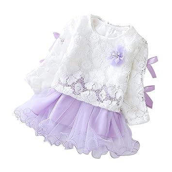 Remoción bestoppen bebé niñas vestidos, traje de diseño de flores de encaje Mini vestido de