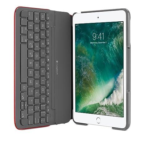 Logitech 920-007628 Bluetooth Rojo Teclado para móvil: Amazon.es: Electrónica