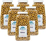 Harmony House Foods Dehydrated Garbanzo Beans (16 Oz Quart Size Jar) - Set of 6