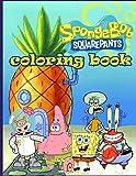 SpongeBob coloring book: SpongeBob SquarePants coloring book for kids and adults