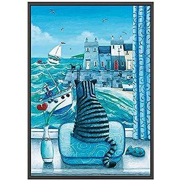 Gut Wales Art Büro Dekoration Malerei Nordic Wohnzimmer Dekoration Malerei  Kreative Mediterranen Stil Sofa Hintergrund Wandmalerei Europäischen