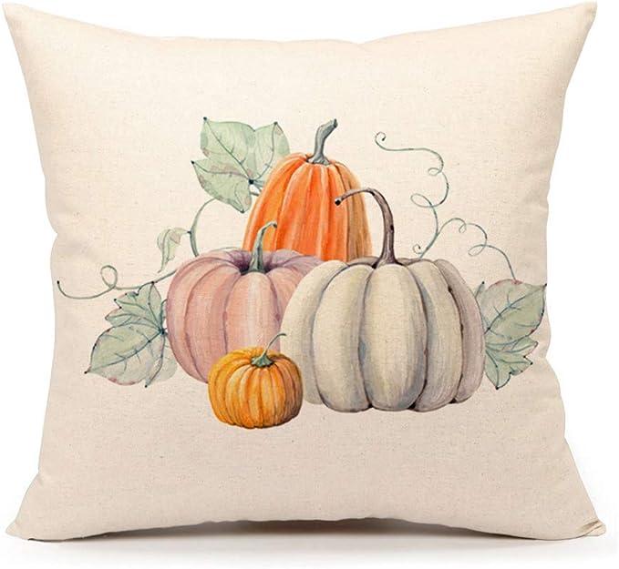 Aged Homespun pumpkin pillows