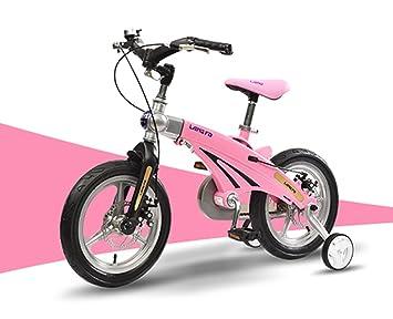 Bicicleta de los niños, 12/14 pulgadas de aleación de magnesio cochecito de bebé retráctil niños modelos de bicicletas masculinas y femeninas: Amazon.es: ...