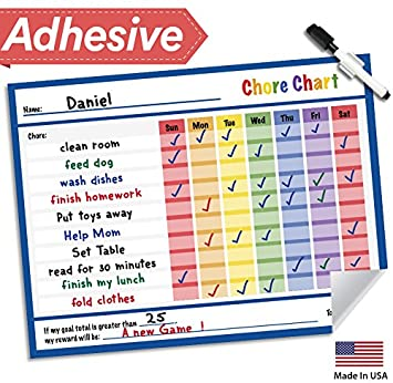 chore schedules for kids