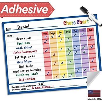 AmazonCom  Lushleaf Designs Responsibility Chore Chart For Kids