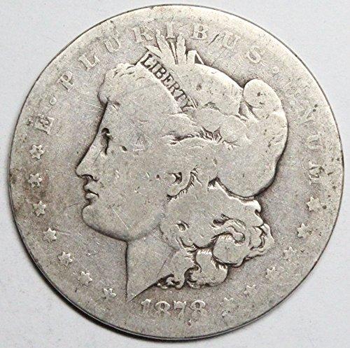 1883 CC Morgan Silver Dollar $1 Average Circulated