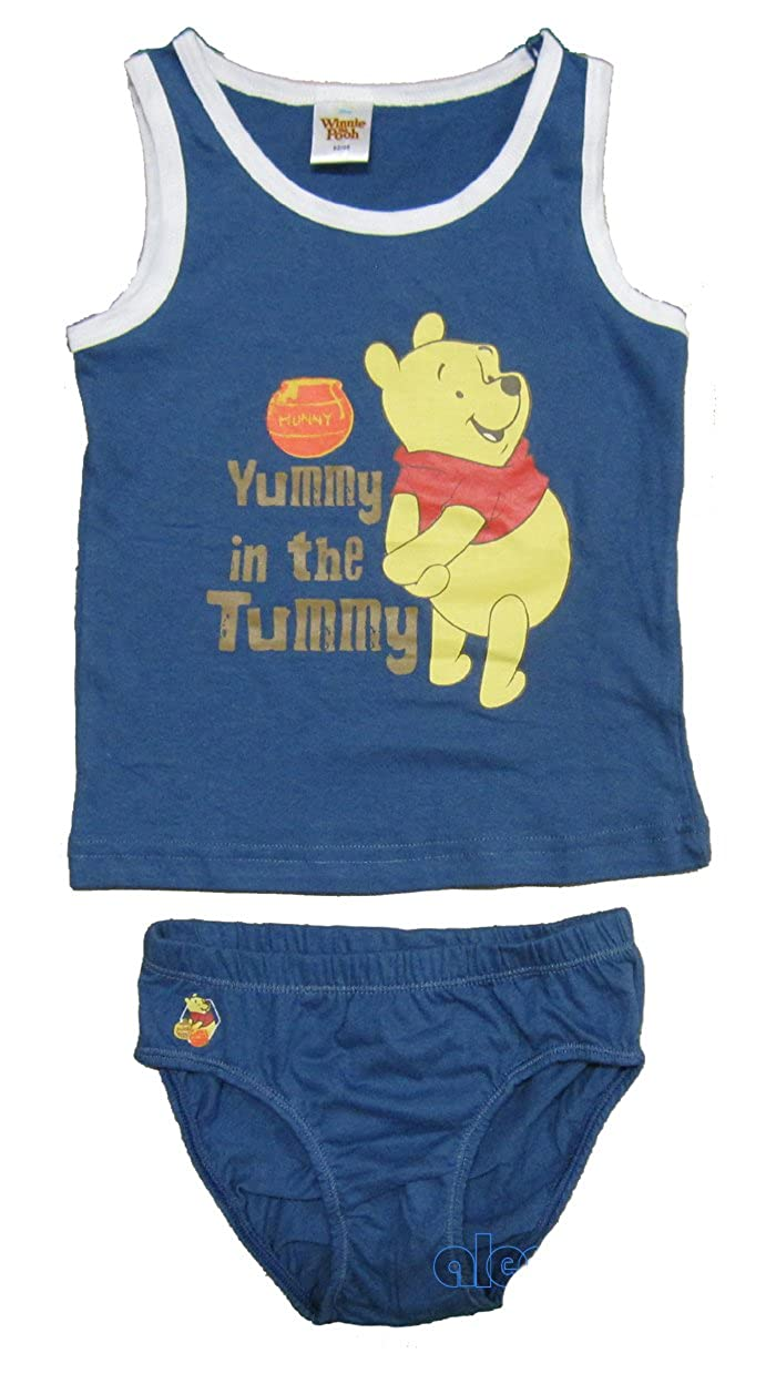 Gr. 116- 122 Disney Winnie the Pooh Jungen Unterwäsche SET Winnie Pooh