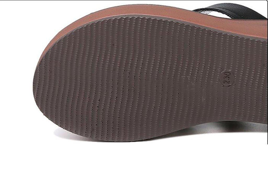 Mode Damen Hausschuhe Strand Hausschuhe Wear rutschfeste flache Hausschuhe Indoor und Outdoor Wear Hausschuhe Sandalen Flache Sandalen,Mode Sandalen (Farbe : A, größe : 36) A eb0a6c