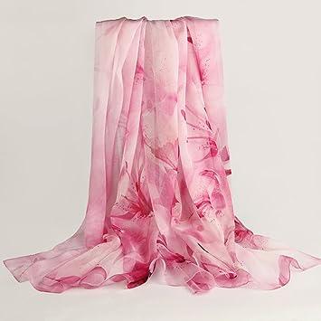 meiduo écharpes et Châles écharpe de soie écharpe de soie des femmes d automne  hiver 9753ae74370