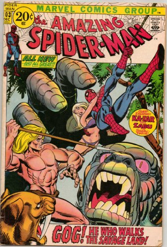 Spider Man Magazine - The Amazing Spider-Man (Marvel Comic #103) December 1971