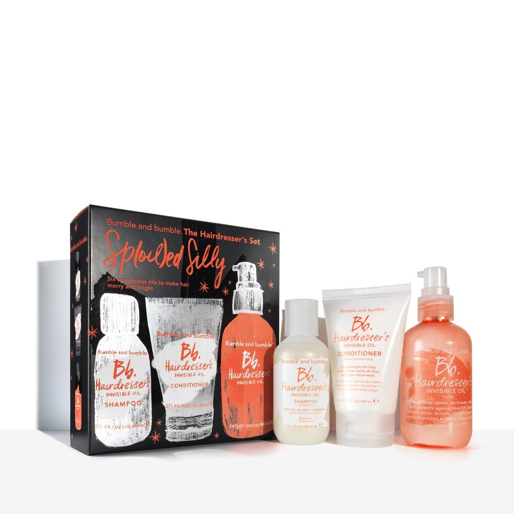 Bumble and Bumble The Hair Dresser's Set SP (Oil) Ed Silly Limited Edition Box Set for Silky Smooth Hair 1 Set for cheap