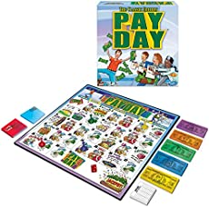 Parker brothers pay day 1994 game pieces & parts | ebay.