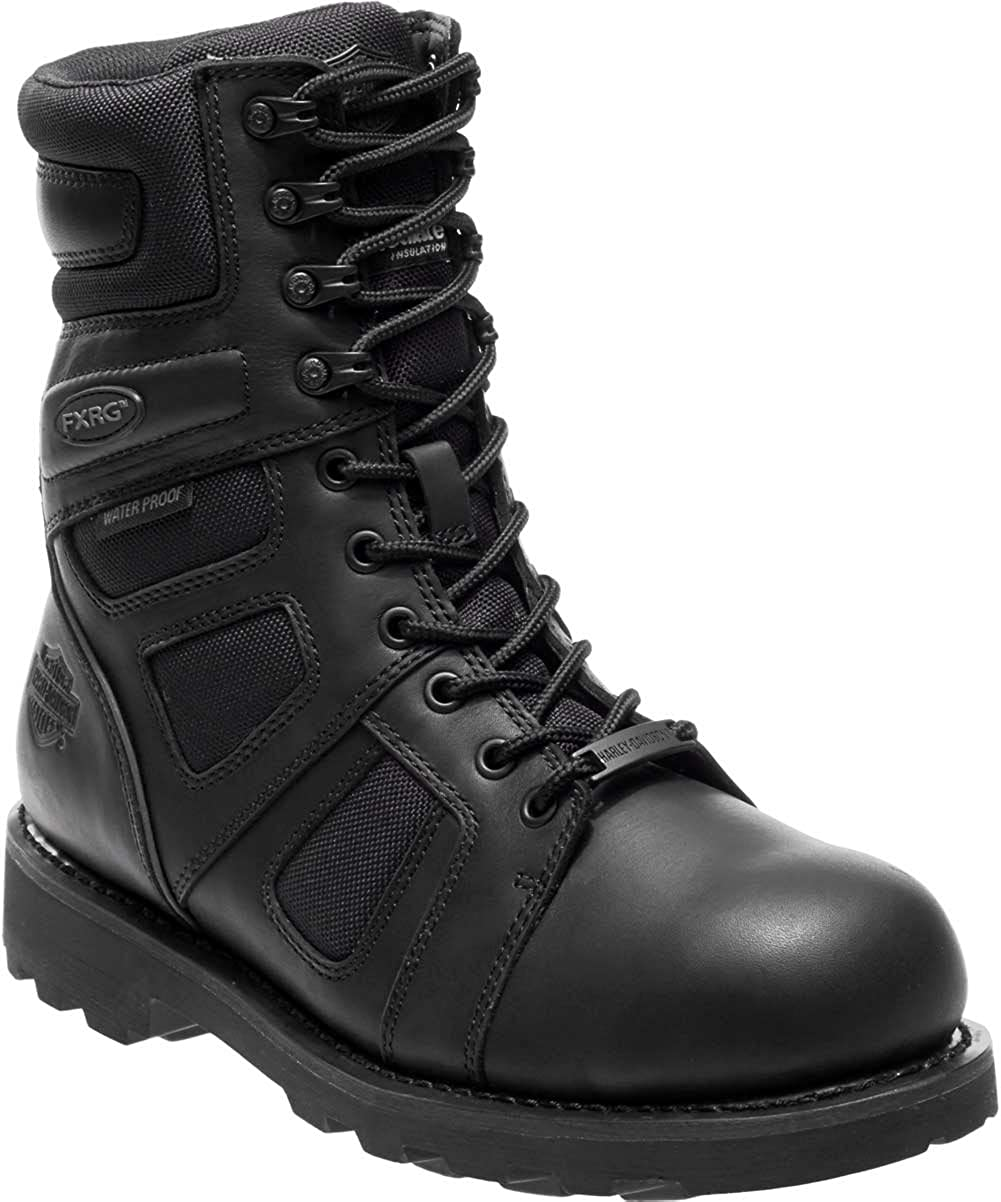 Harley-Davidson Men's Welton Waterproof Motorcycle Riding Boots - D96140 Wolverine