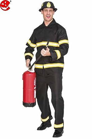 Fyasa 706493-t04 – Disfraz de bombero, grande: Amazon.es: Juguetes ...