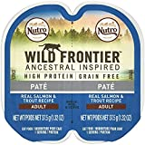 Nutro Wild Frontier High Protein Grain Free Pate Wet Cat Food, Salmon...