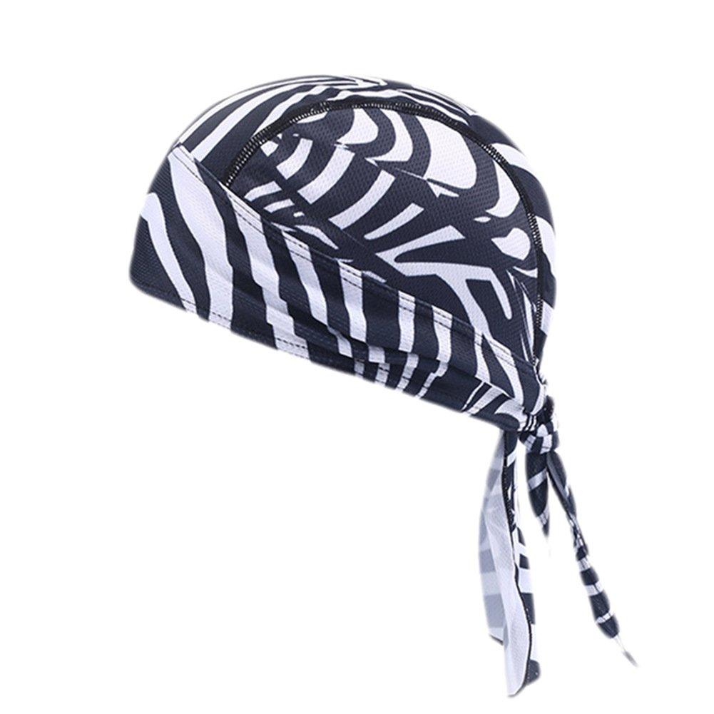 iBaste 6 Colori Cappello da Ciclismo Asciugatura Rapida Sciarpa di Testa Bici Bandana Sport all'aria Aperta Unisex per Bicicletta iBaste_S
