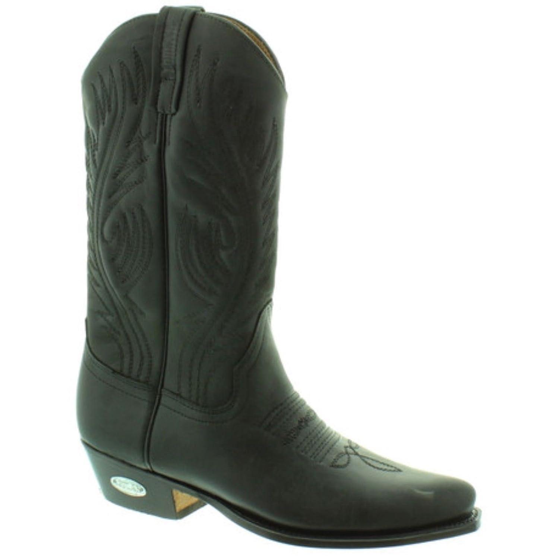 LOBLAN 194 Loblan Stiefel Größe 41 Schwarz Westernstiefel Damen und Herren schwarz Biker stiefel