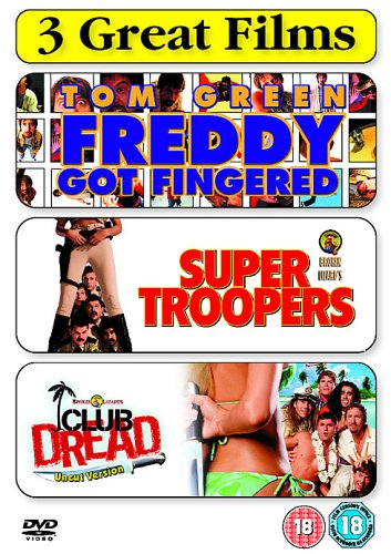 Comedy Trp 1 (club Dread, Super Troopers, Freddy G [Import anglais]