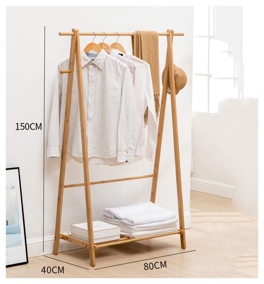 80150CM WYQSZ Coat Rack - Easy to Assemble Creative Hangers Household Hangers Living Room Coat Rack Floor Racks - Coat Rack 8563 (Size   80  150CM)
