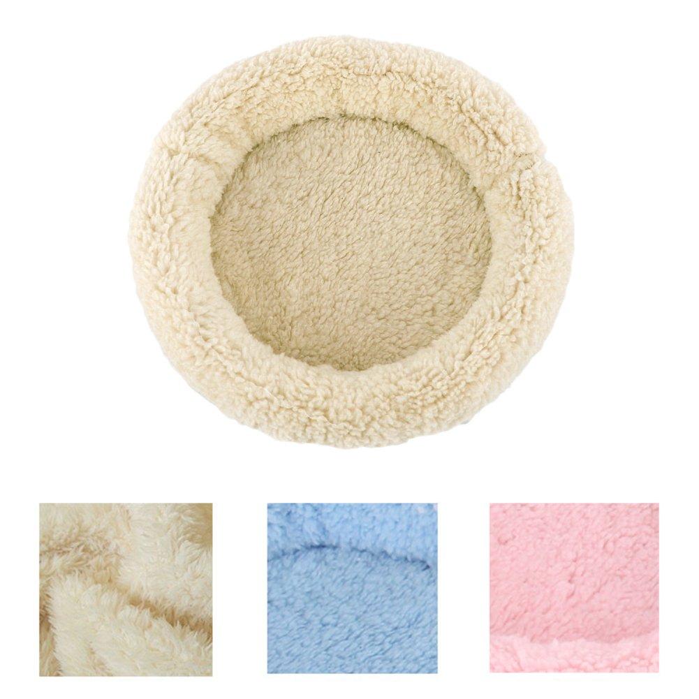 Alfombrilla para hámster y mascota pequeña, de Quanjucheer; para dormir, de suave peluche, perfecta para invierno, lavable