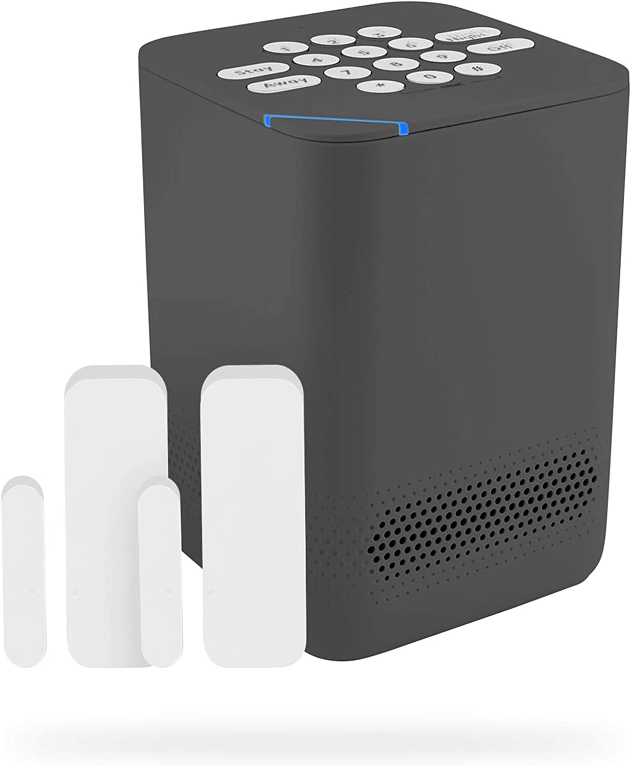 Blue by ADT Starter System – Easy, DIY Setup – Optional 24/7 Professional Monitoring – No Contracts – Alexa Compatible - Graphite
