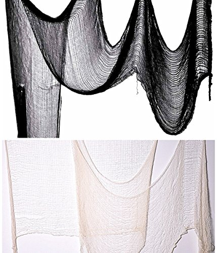 [Halloween Creepy Cloth Party Decor Drape Doorways Entryways Windows Cover Gauze 10 Yards X 30