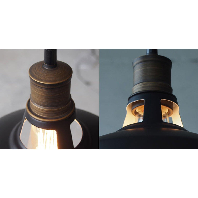 CLAXY Ecopower Industrial Barn Mini Metal Pendant Light 1 Light by CLAXY (Image #5)