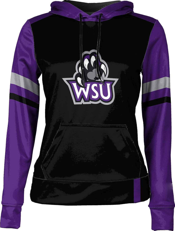 School Spirit Sweatshirt Weber State University Girls Pullover Hoodie Old School