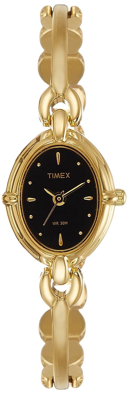 Timexレディースクラシックアナログブラックダイヤル時計 B007R9ZFYI