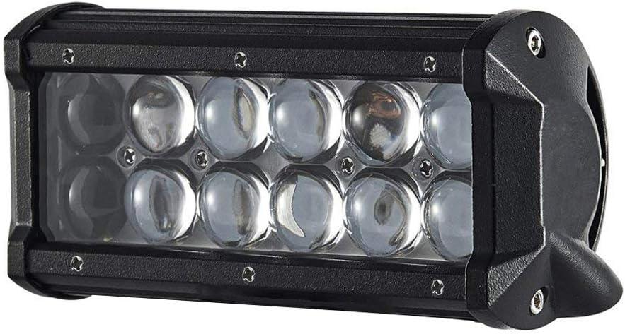 18W Barra LED Fuoristrada,ALPHA DIMA Faro LED Fuoristrada Barra Luminosa LED Faro LED Auto Impermeabile IP67 Luci da Auto Condotto di Azionamento LED Fanale LED per 4WD Barca Camion ecc