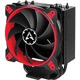Arctic Freezer 33 TR - Ventilador para Caja de Ordenador I 2 Ventiladores de 120 mm I 200 a 1 800 RPM I Muy silencioso - Rojo