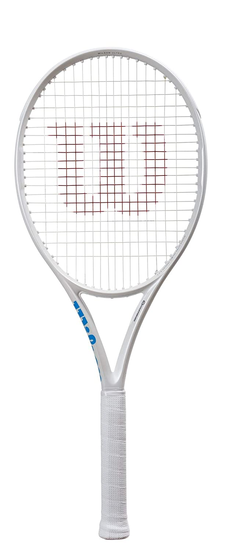 Wilson(ウイルソン) 硬式 テニスラケット ULTRA 100 CV White in White (ウルトラ100CV ホワイト イン ホワイト) [フレームのみ] グリップサイズG2  B07NRLJ9TD