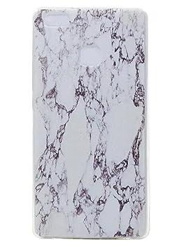 huawei p9 lite coque silicone marbre