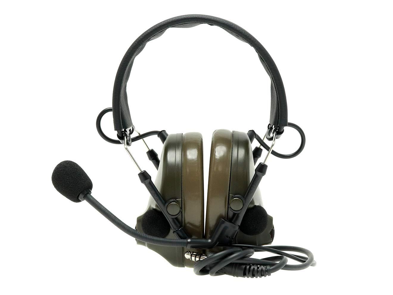 【正規代理店】Z-TACTICAL Comtac III タクティカルヘッドセット FG(実際は濃いODカラー) B07QJDYS78
