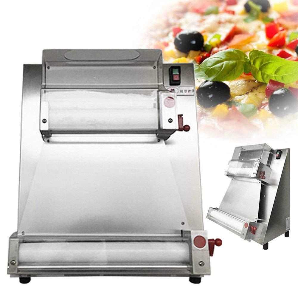 Enshey Automatic Pizza Bread Dough Roller Sheeter Machine Pizza Making Machine 370W