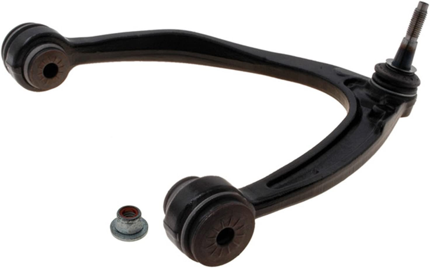 ACDelco 45D1002 Professional Front Passenger Side Upper Suspension Control Arm and Ball Joint Assembly