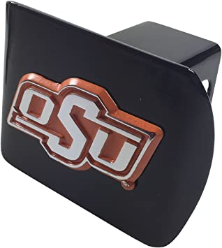 Oklahoma State OSU Pistol Pete Metal Hitch Cover