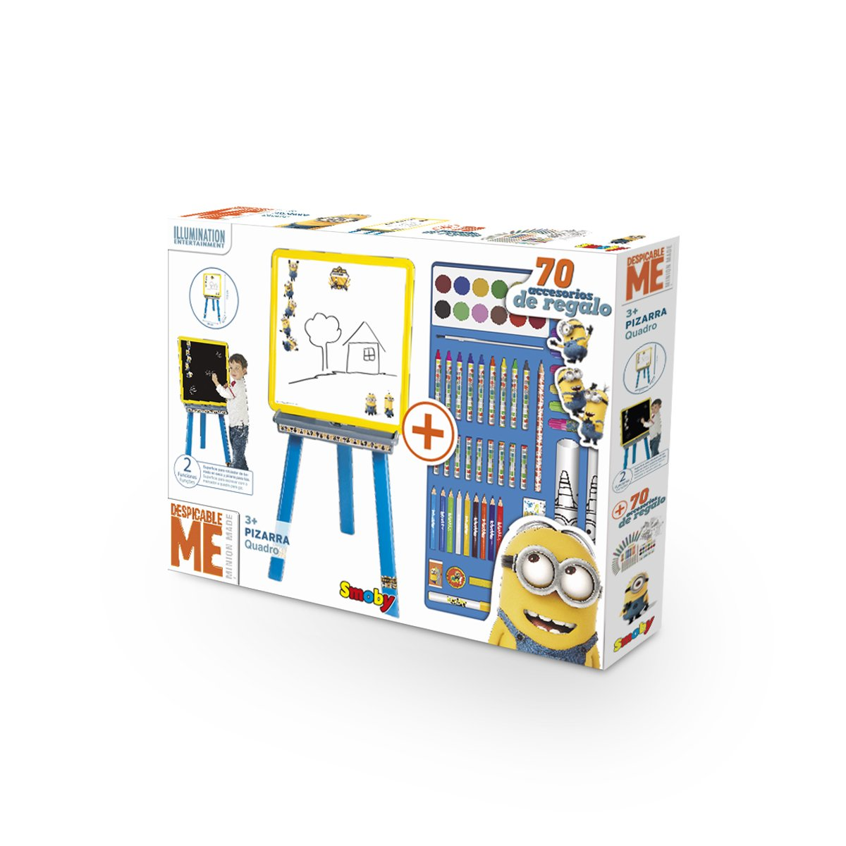Amazon.com: Smoby 28023 - Minions Drawing and Creative ...