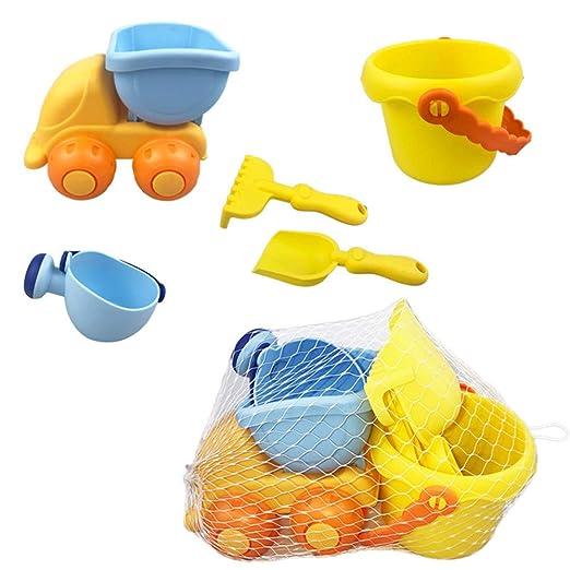Juguetes de playa de plástico suave para niños, dragado ...