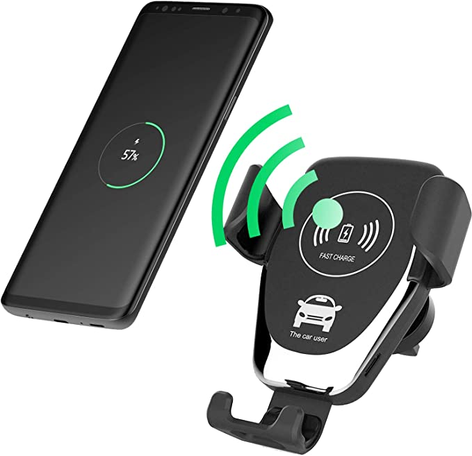 Ruix Dashboard Cell Phone Car Mount Holder Easy One Button ReleaseCompatible for Samsung Note 9,8,5 Galaxy A6,S9,S9+,S8,S8+,S8 Active,J7,J7 V,J3,J3 V,J7 Refine,J3 Achieve,J3 Star,J7 Star CELLET