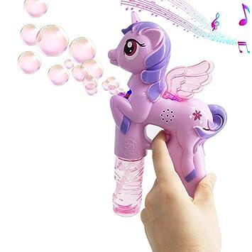 Amazon.com: IVriel - Juguete de máquina de burbujas para ...