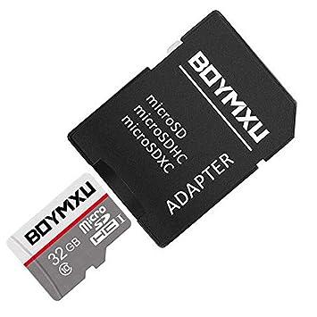 Amazon.com: Tarjeta micro SD de 32 GB, boymxu tarjeta de TF ...