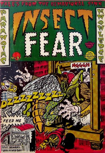 Insect Fear #2, Rodriquez, Spain and Rory Hayes, Roger Brand, Justin Green, Kim Deitch, S Clay W