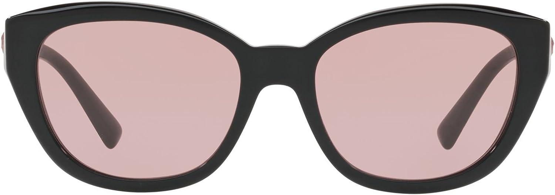Versace VE4343 GB1/84 Black VE4343 Cats Eyes Sunglasses Lens Category 1 Size 56