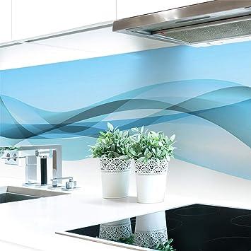 Küchenrückwand Abstrakt Dunkel Premium Hart-PVC 0,4 mm selbstklebend