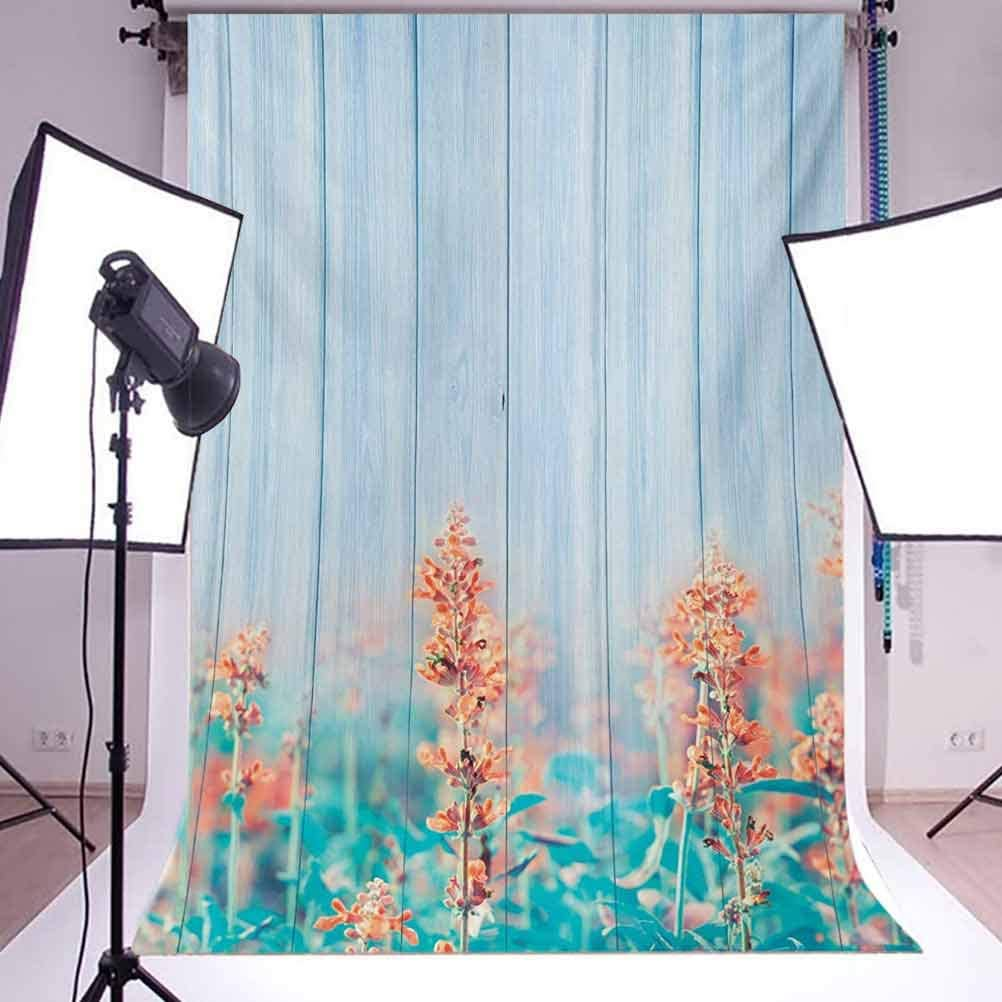 Yellow and White 8x10 FT Photo Backdrops,Floral Pattern with Abstract Lace Inspired Lines Dots Background Background for Kid Baby Boy Girl Artistic Portrait Photo Shoot Studio Props Video Drape Vinyl