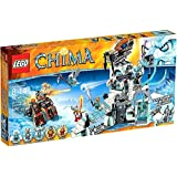 LEGO Legends of Chima Set #70147 Sir Fangar's Ice Fortress by Legends of Chima