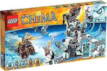 7804a2d28093 Amazon.com  LEGO Legends of Chima Set  70147 Sir Fangars Ice ...