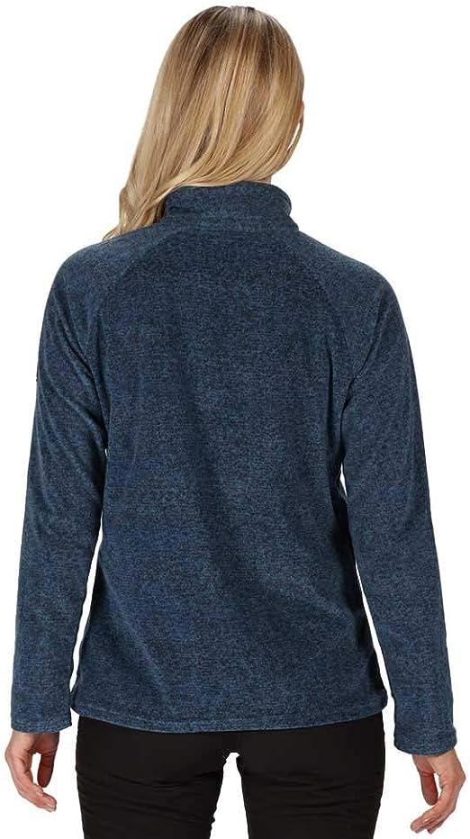 Regatta PIMLO Womens Velvet Fleece with 3//4 Zip Opening at Fleece